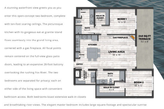 THE CURRENT of the Fox - Kimberly Floor Plans