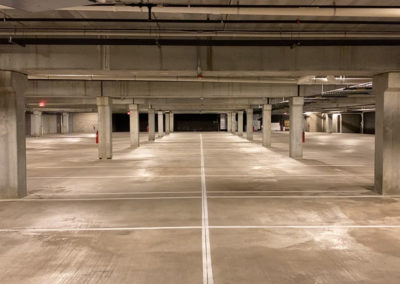 Heated Underground Parking Garage at THE CURRENT of the Fox - Kimberly