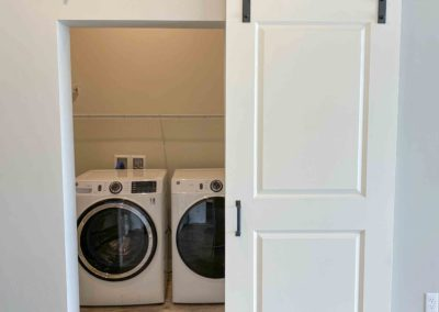 In-Unit Laundry Room at THE CURRENT of the Fox - Kimberly